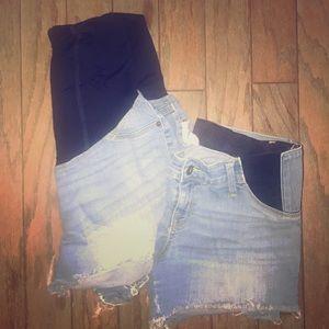 Woman's Maternity Bundle set (2) shorts